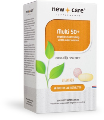 New care multi 50 60 tabl zuigtabletten p833