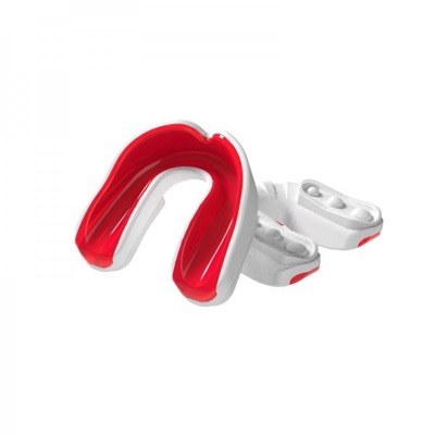 Multisports gel mouthguard white red adult p1138