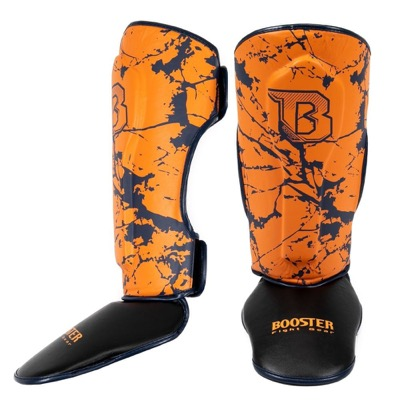 Oranje booster shin guards jeugd p1159